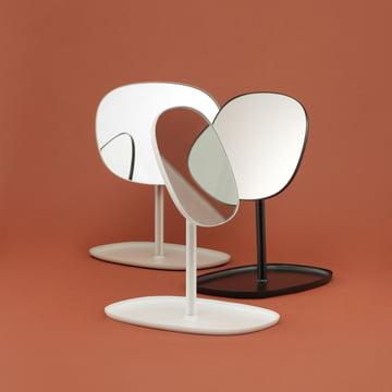 Normann Copenhagen - Flip Mirror, Group in white, black, sand