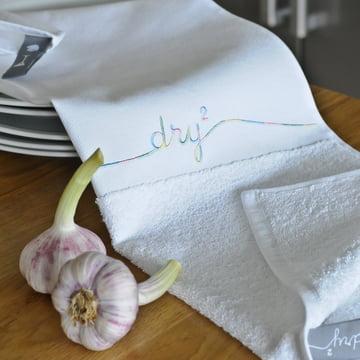 Dry 2 tea towel by Pension für Produkte