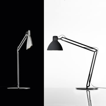 Ingo Maurer - Looksoflat Table Lamp, silver, black