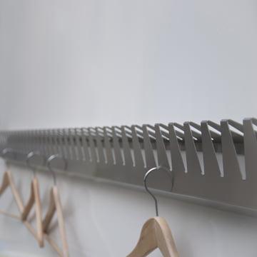 schindlersalmerón - Clothes Rail K/02, 200cm - with coat hanger