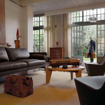 Vitra - Guéridon Bas coffee table, oak natural - living room