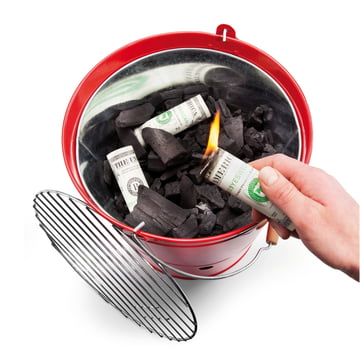 Donkey Products - Burn your money, Dollar - BBQ