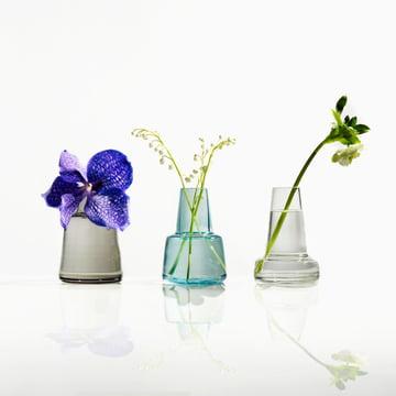 Holmegaard - Flora Vase, 24 cm, klar - Gruppenbild