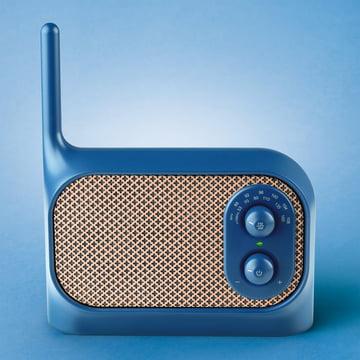 Lexon - Mezzo Radio, blue