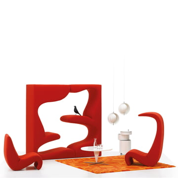 Vitra - Living Tower, Tonus red