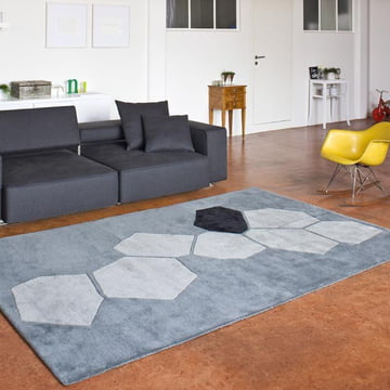 Ruckstuhl - Landscape carpet, silver