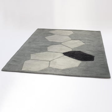 Ruckstuhl - Landscape carpet, silver - inclined