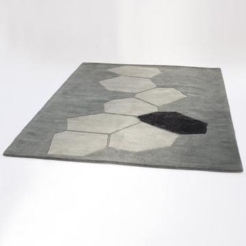 Ruckstuhl - Landscape carpet, silver - inclined