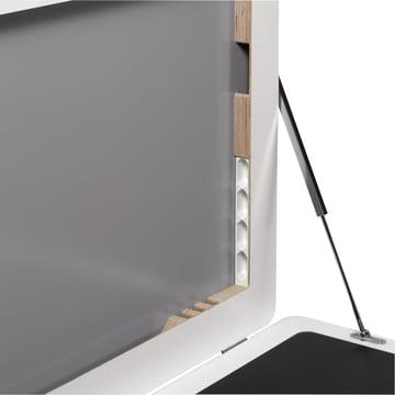 Müller Möbelwerkstätten - Workframe - open, details, plugs