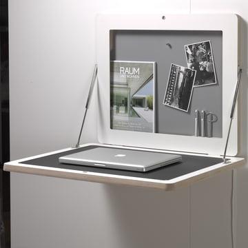 Müller Möbelwerkstätten - Workframe, white/ linoleum