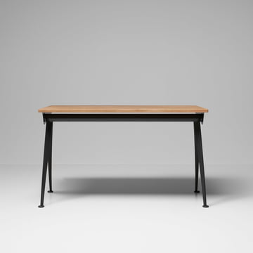 Vitra - Compas Direction Table, natural oak wood / black