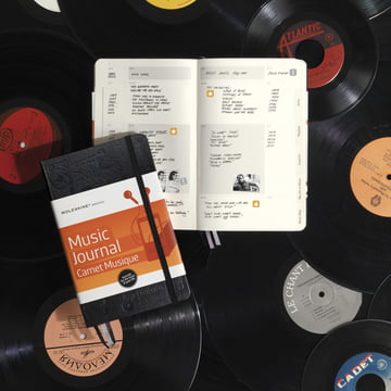 Moleskine - Passion Journal, Music