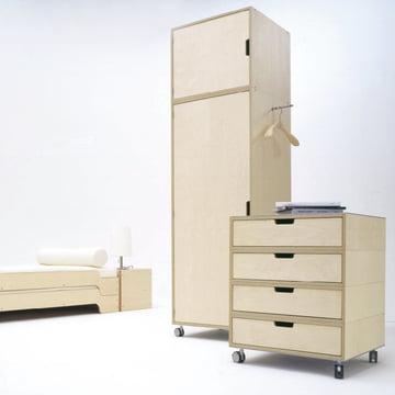 Müller Möbelwerkstätten - Modular, natural - cabinet example