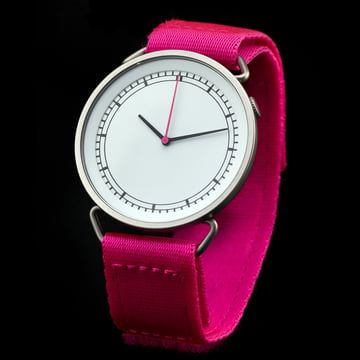 Rosendahl - MUW wristwatch, white / pink