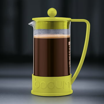 Bodum - Brazil Coffee Maker, 1.0 l, lime - preparation 4