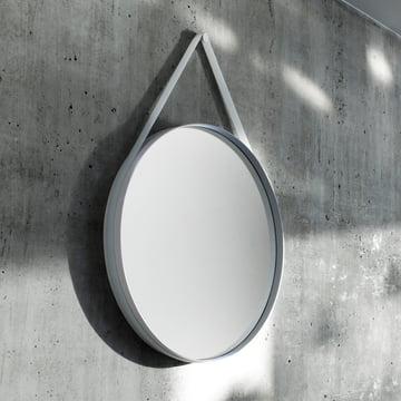 Hay - Strap Mirror, grey