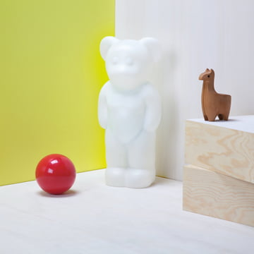 Authentics - Lumibär, situation white