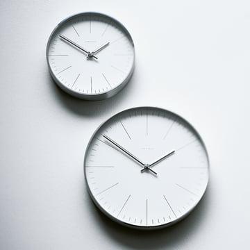 Max Bill Wall Clocks, Line - hanging at wall