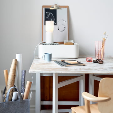 Iittala, Lantern Lamp / Ambience image - on the desk