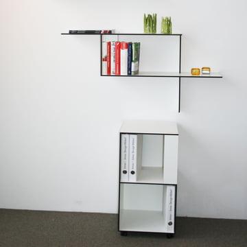 Jonas Jonas - Wallboard and Wallbox, white