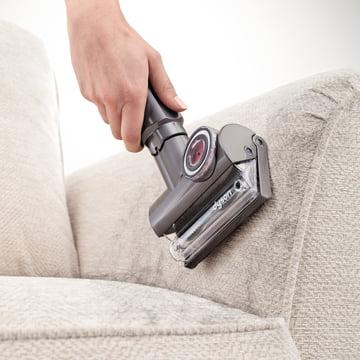 Dyson - Tangle-Free Mini Turbine Nozzle - use, sofa