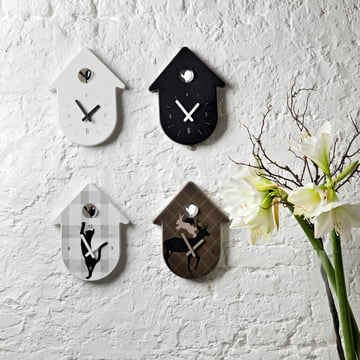 The Toc Toc Wall Clock By Koziol In The Home Design Shop