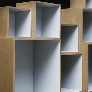 OK Design - Babushka Boxes, grey - closeup