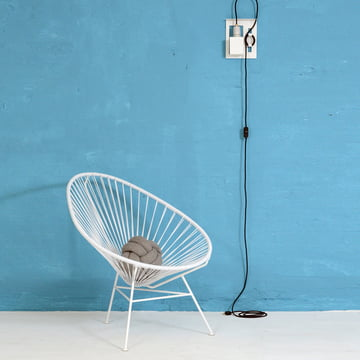 OK Design - The Acapulco Chair, white
