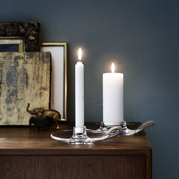 Holmegaard - Design with Light candleholders - both sizes