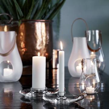 Holmegaard - Design with Light candleholder - both sizes