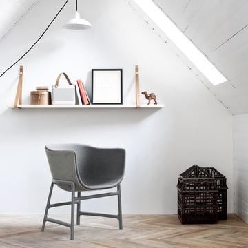 Fritz Hansen - Minuscule Chair, light grey 123