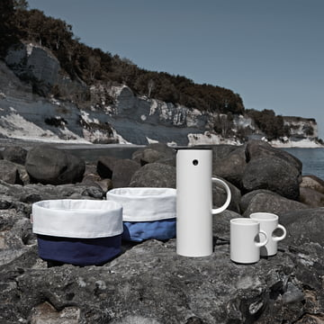 Stelton - Insulated flask 1 l, Circle, bread bag - Fall 2013