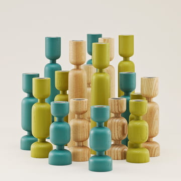 Normann Copenhagen - Lumberjack - group, green, blue