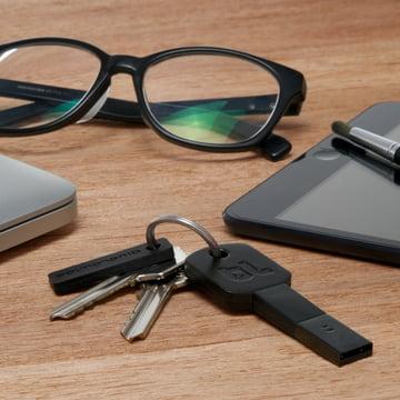 Bluelounge - Kii USB Adapter, Lightning, black