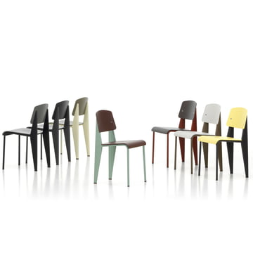 Vitra - Prouvé Standard SP chair - group