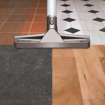 Dyson - Parquet Nozzle - in use