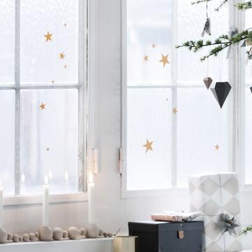 ferm living - Mini Wall Stickers, stars
