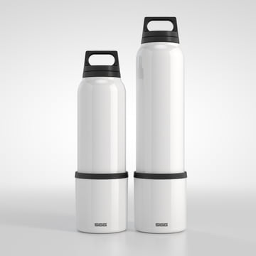 Sigg - Thermo 0.75 l and 1.0 l, classic white