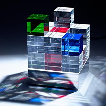 Tecnolumen - Cube Light, coloured