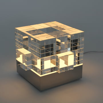 Tecnolumen - Cube Light, transparent