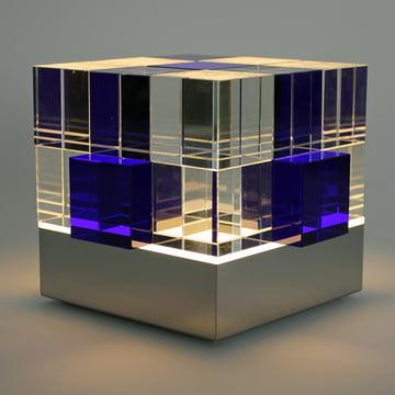 Tecnolumen - Cube Light, transparent, blue