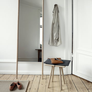 Skagerak - Georg Stool, Mirror, oak wood
