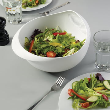 Joseph Joseph - Prep & Serve, white - salad