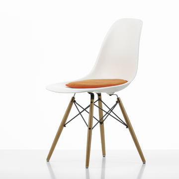 Vitra - Seat Dots, red / orange - Plastic Side Chair