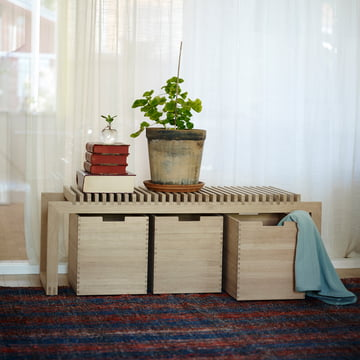 Skagerak - Cutter Box, oak wood