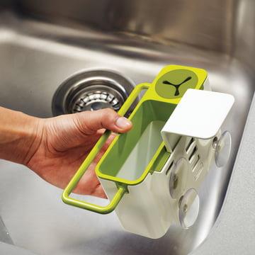 Joseph Joseph - Sink Aid, white / green - fastening