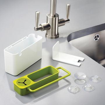 Joseph Joseph - Sink Aid, white / green - single parts