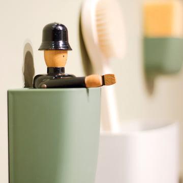 Normann Copenhagen - Pocket Organizer, green - closeup