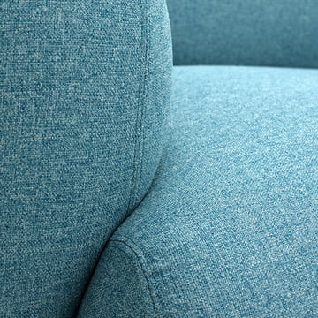 Normann Copenhagen - Swell 3-seats, light blue - details, back