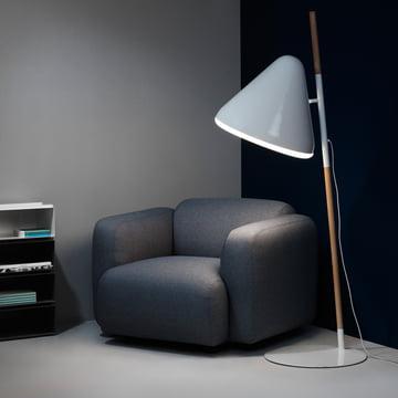 Normann Copenhagen - Swell armchair, grey